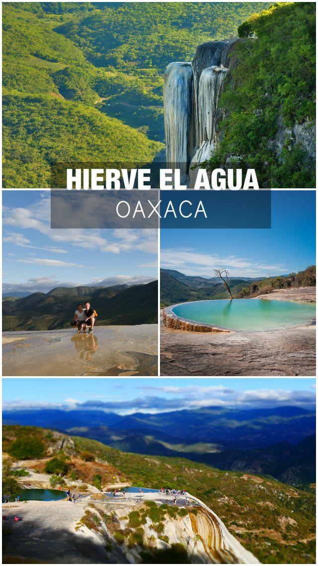hierve el agua oaxaca endroits a visiter mexique oaxaca