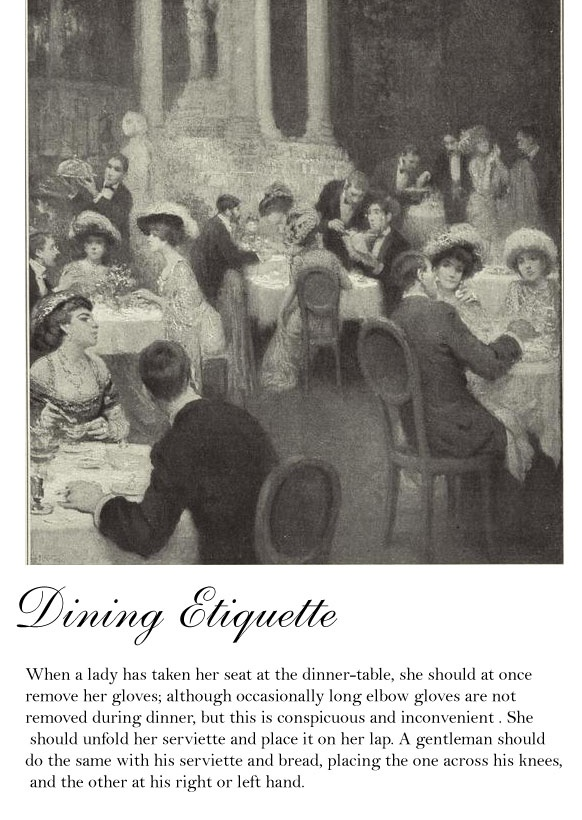136 Best Dining Etiquette Images On Pinterest