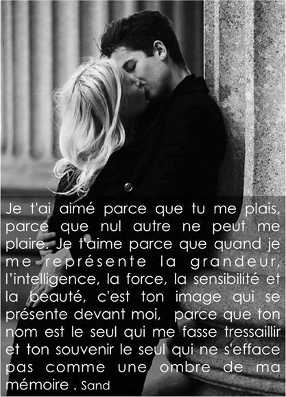 Est Ce Que Je L'aime Encore : l'aime, encore, Soulmate, Quotes, QUOTATION, Image, Description, Pinterest,, Poems, Inspirational