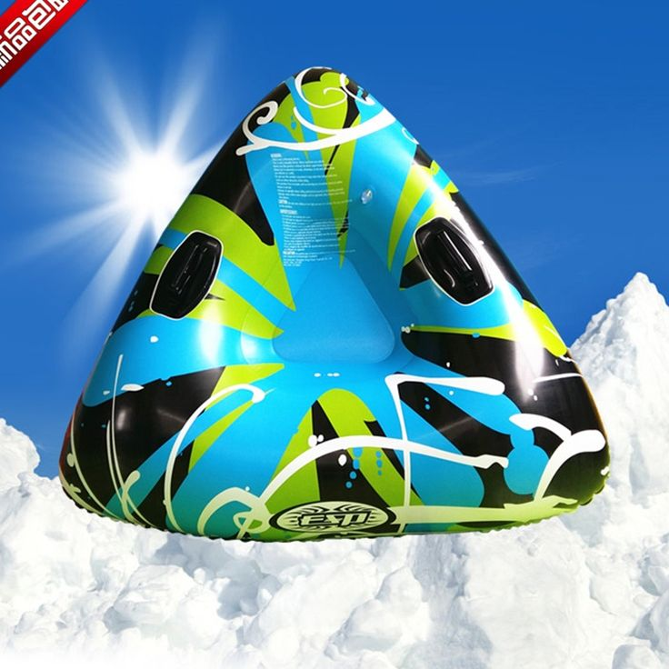 Musim dingin Rakit Tiup Putaran Skating Ski Kereta Luncur & Tabung Salju Kereta Luncur Luar Olahraga Mainan