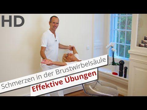 Schmerzen in der BWS: Einfache & effektive Übung // Brustwirbelsäule, Rückenschmerzen, Rückenübungen - YouTube