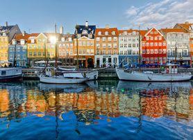 Quartier de Nihavn, à Copenhague, capitale du Danemark