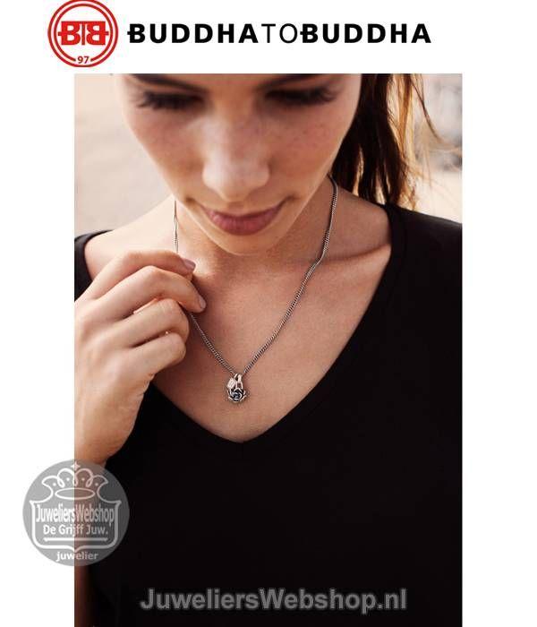 Buddha to Buddha Hanger 674 Lotus Pendant een hanger die staat voor puurheid. #buddhatobuddha #btb #lotus #pendant #hanger #silver #zilver #ketting #jewelry #necklace #juwelierswebshop