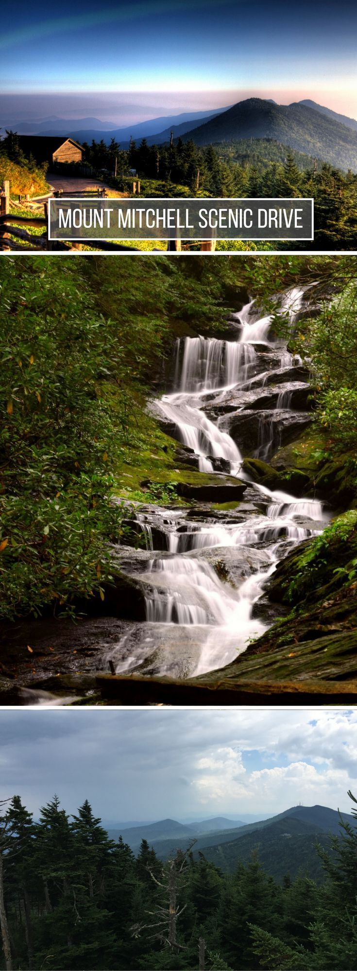 Just off the Blue Ridge Parkway is another incredible scenic byway