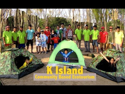 Good Morning from K Island Resort in Stung Treng Province