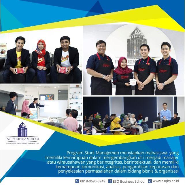sekolah bisnis -Program Studi Manajemen EBS, Ciptakan Lulusan Yang Berintegritas