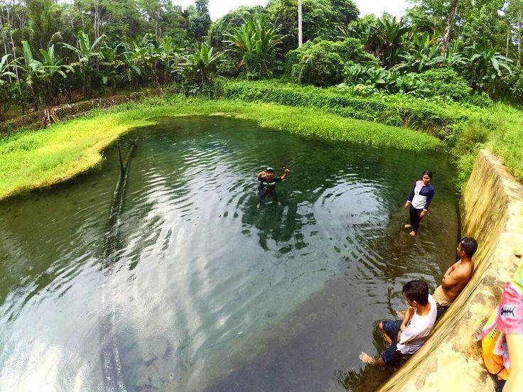 Mata Air Way Sumpuk Wisata Underwater Hits di Lampung - Lampung