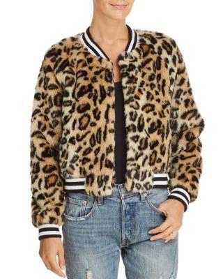 5edc4b7d3927 Jack by BB DAKOTA Clever Girl Leopard Print Faux Fur Bomber Jacket |  Bloomingdale's