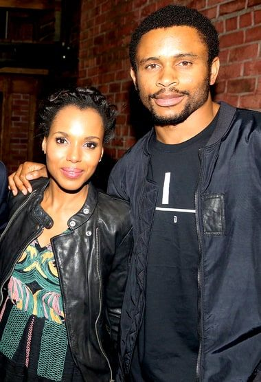 Kerry Washington addressed rumors that her marriage to Nnamdi Asomugha was in trouble at SXSW — get the details from Us Weekly here
