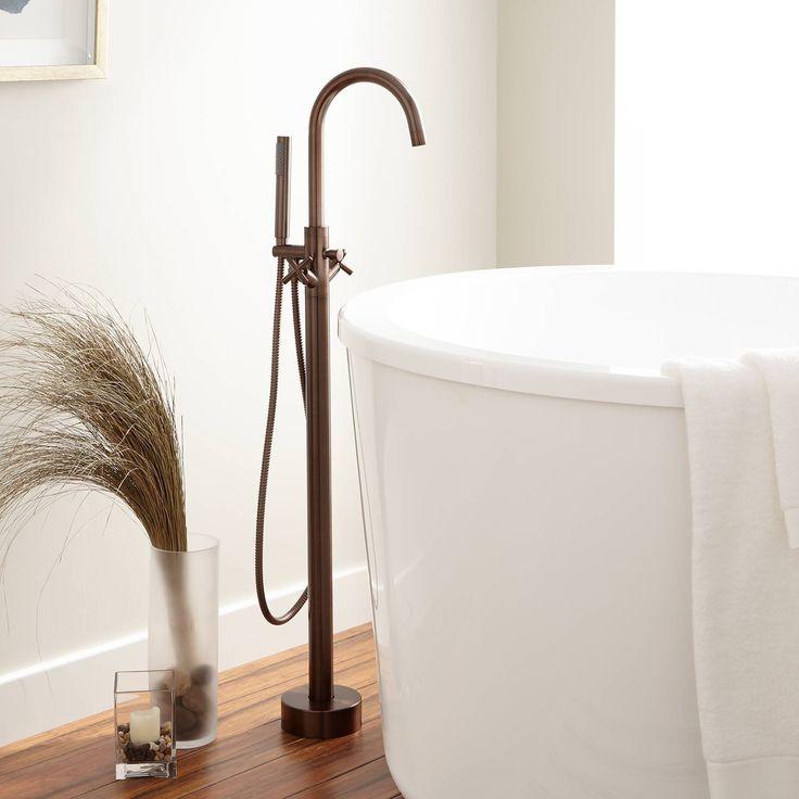 Nerin Gooseneck Freestanding Tub Faucet