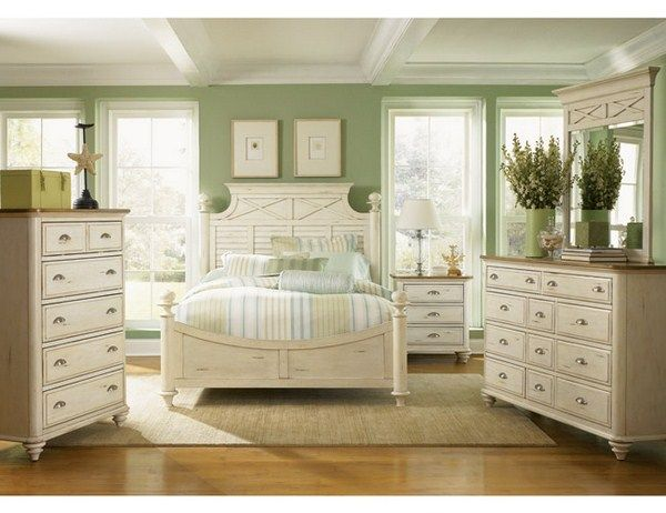 Bedroom Decoration With White Furniture 001