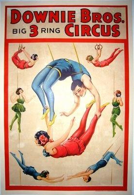 Downie Bros AERIALISTS (c.1931)