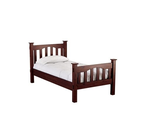 Kendall Bed from Pottery Barn Kids.  Similar to Land of Nod Simple bed...about  half the price.