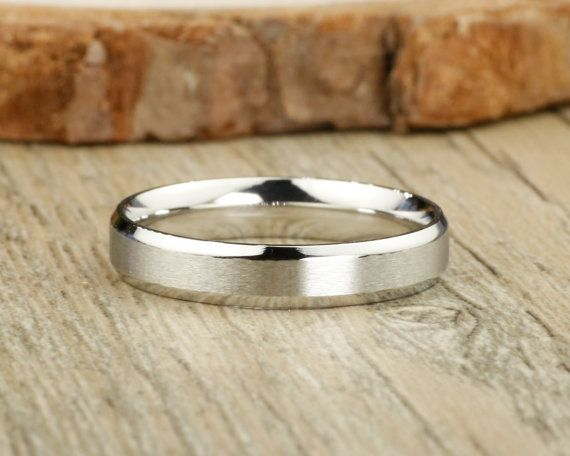 Handmade Matte Wedding Band, Women Ring, Couple #jewelry #ring @EtsyMktgTool http://etsy.me/2bPNFMy