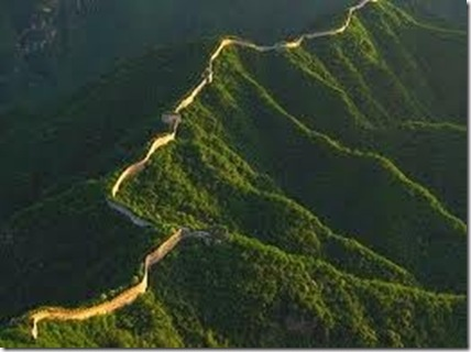 great wall from space china china culture great wall on the great wall of china id=45489