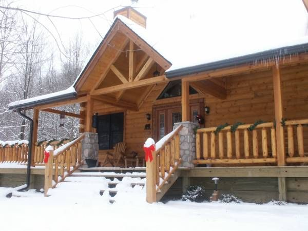 12 best brown county cabins images on pinterest brown for Ponte coperto cabina brown county