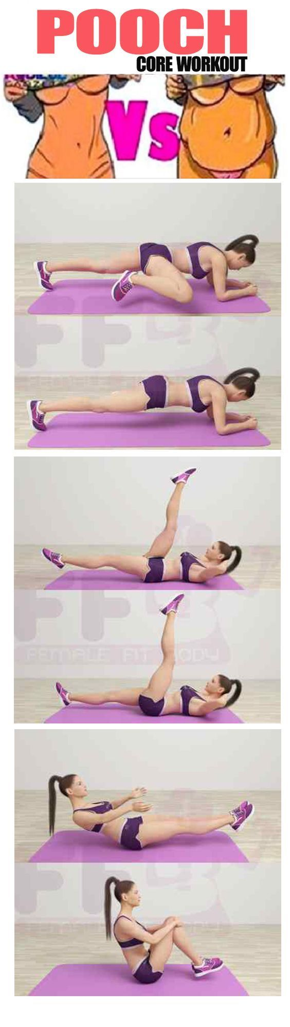 Best Lower Abs Pooch Exercises to Get a Six Pack Ab and Flat Stomach in a Month