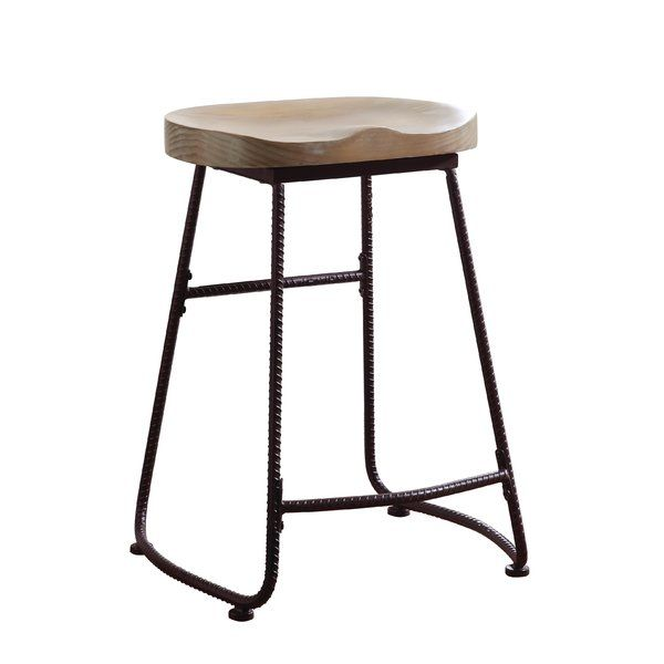 Union Rustic Thach Backless 24 Bar Stool Reviews Wayfair Counter Height Bar Stools Counter Stools Counter Height Stools