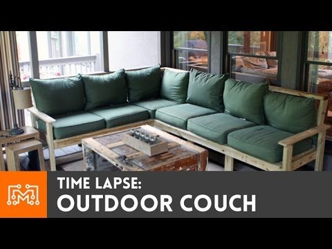 How to make an outdoor sectional - I Like to Make Stuff