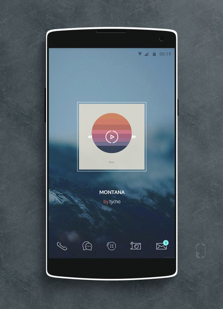 ice Android Homescreen by rabrot - MyColorscreen