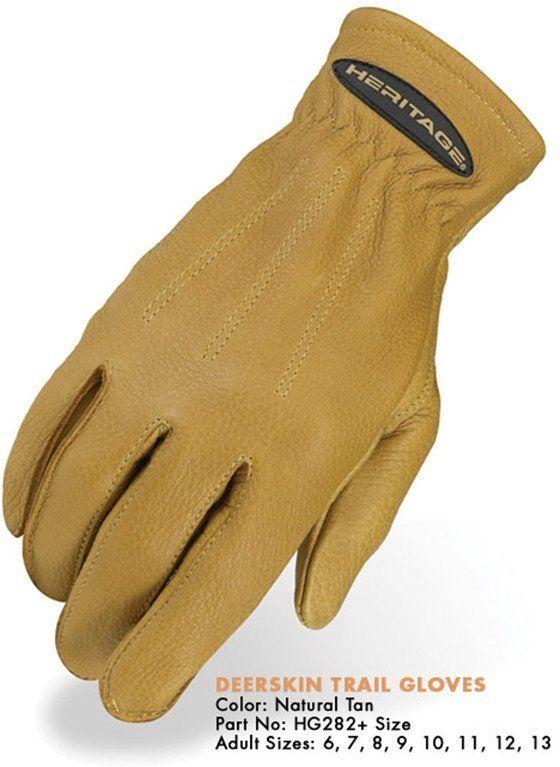 Heritage Deerskin Trail Gloves