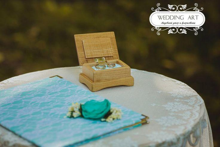 Мятная свадьба - Свадебный декор и флористика Wedart.com.ua
