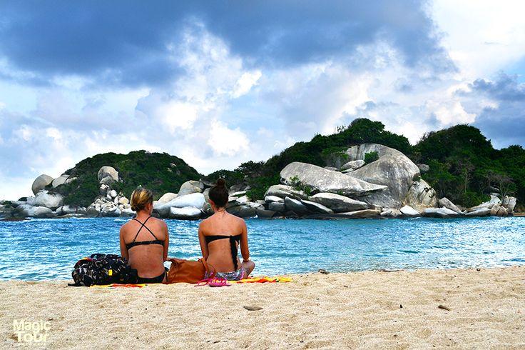 Paya del Cabo San Juan #TayronaPark #Beach #Jungle #LandScape #Nature #WeLoveTravel