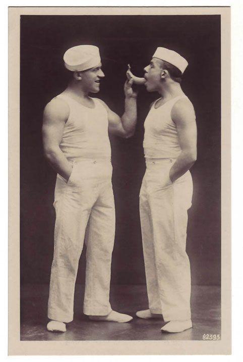 www.ditokadum.com : gay portraits for gay people - sailors gay big banana