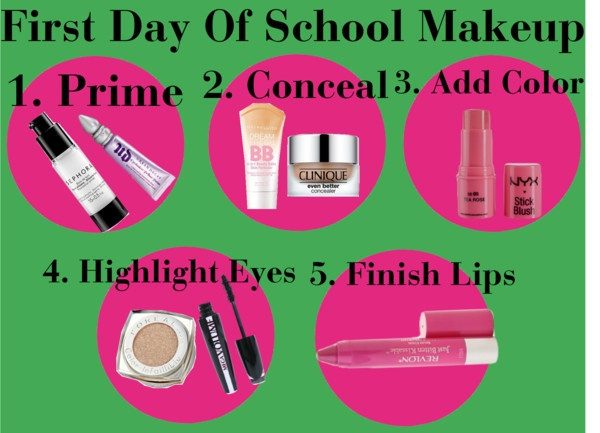 First Day Of School Makeup- The Girl, The Glitter, & The Gelding