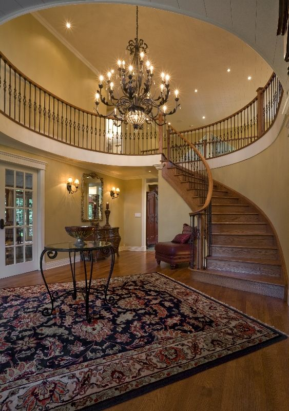What interior design features do you like in a grand entry?
