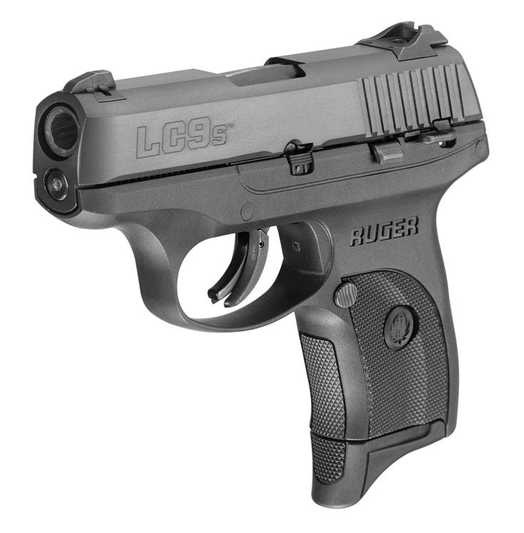 Ruger's new pistol, the LC9s. The 9mm is a striker-fired version of the popular LC9.