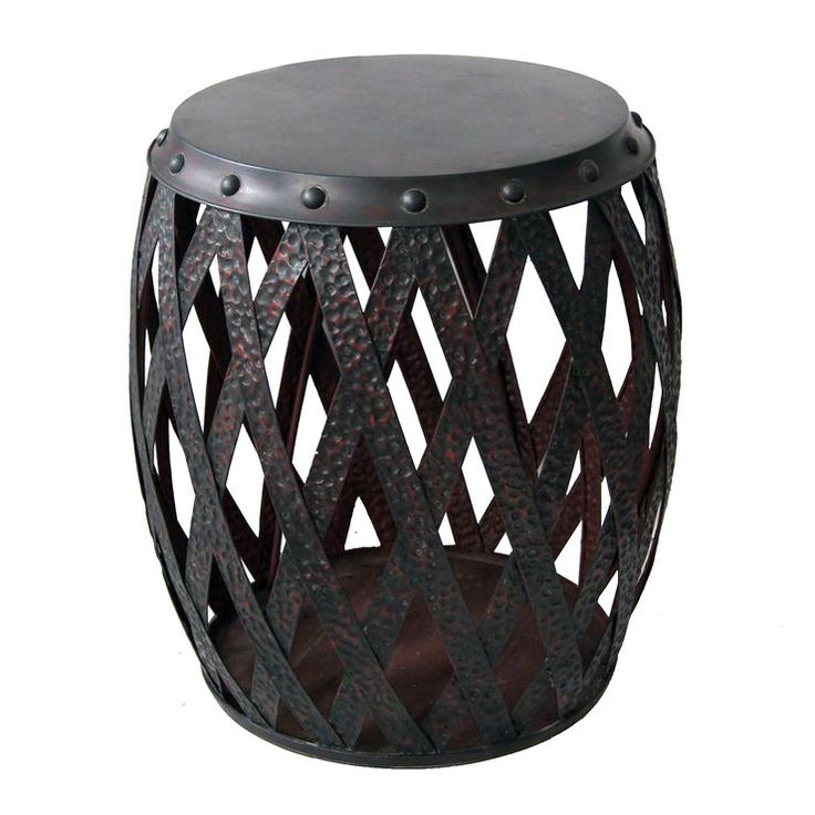 Santiago Modern Burnished Brass Drum Coffee Table: 1000+ Ideas About Metal Drum On Pinterest