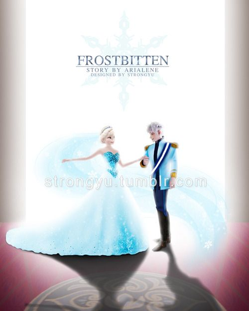 Photo of Jack Frost and Elsa for fans of Elsa Jack Frost. I don't ship then but this is beautiful art.
