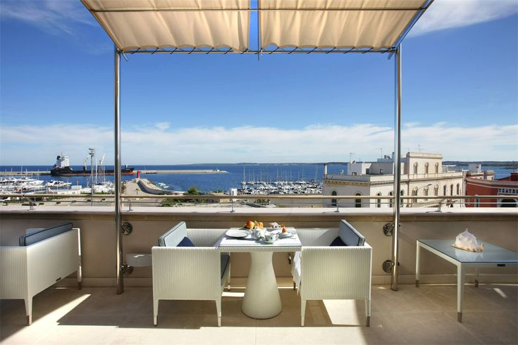 Un buon giorno dal ristorante Dolce Vita di Palazzo del Corso a #Gallipoli!