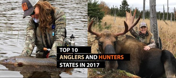Top 10 States of Fishing and Hunting License Purchased | Realtree B2B