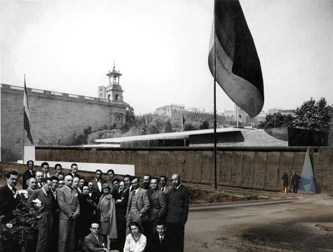 Modern Masterpieces #4, Ludwig Mies van der Rohe, Barcelona Pavilion, Barcelona, Spain, 1929 © Luís Santiago Baptista