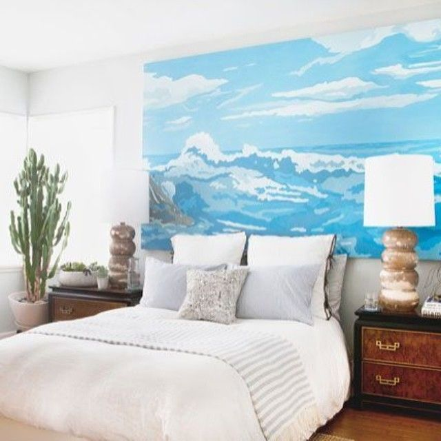 We've got GREAT news. Our creative director @hommemakerblog may have painted that beautiful seascape canvas himself, but he's also shared his super easy paint-by-numbers tutorial so we can create a masterpiece too. Check it out on @refinery29 today! #paintbynumbers #DIY #masterpiece