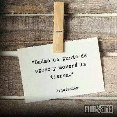 Arquímedes...
