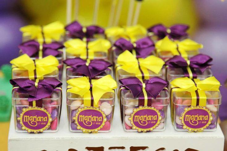 Caixinha De Acrílico Rapunzel -Enrolados | FÁBRICA DE IDÉIAS - Produtos personalizados | Elo7