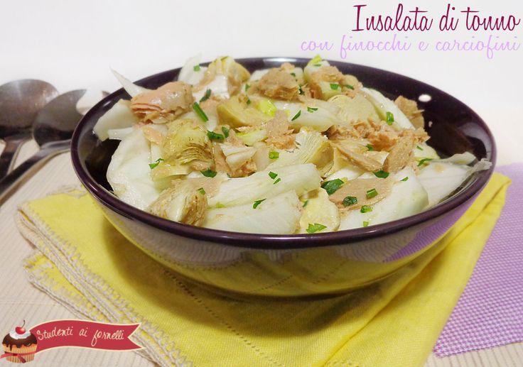 Insalata di tonno e finocchi http://blog.giallozafferano.it/studentiaifornelli/insalata-di-tonno-e-finocchi-ricetta/