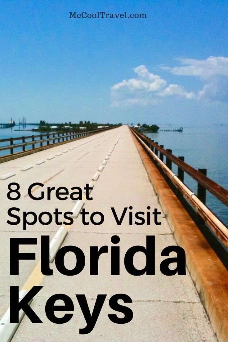 8 great spots to visit in the Florida Keys USA (the Conch Republic), with pictures and descriptions. Some of these Florida Keys destinations are local faves.