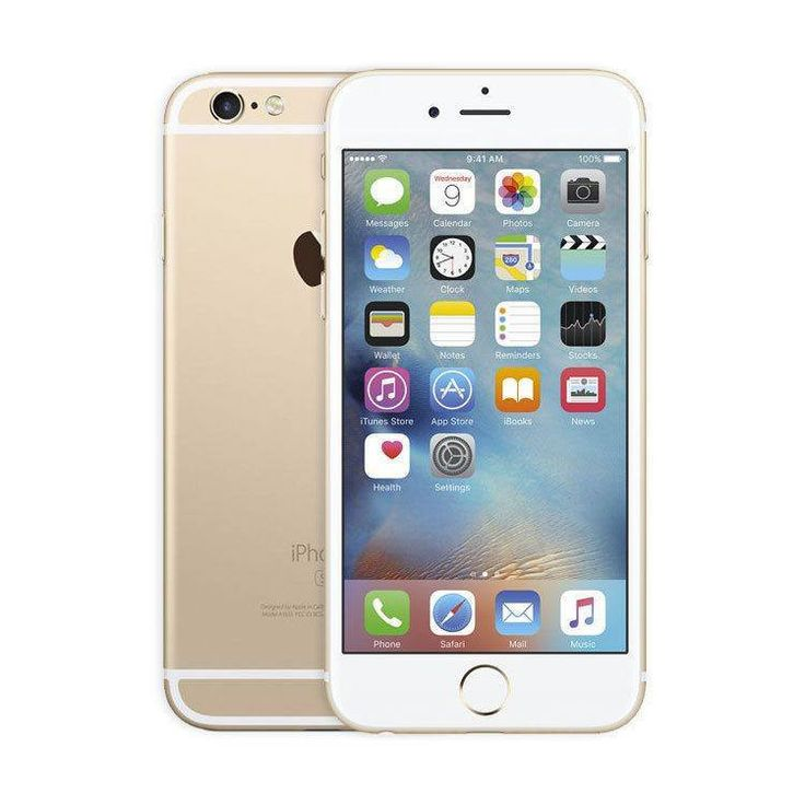 Refurbished iPhone 6S Gold GSM UNLOCKED 16GB (A1633)