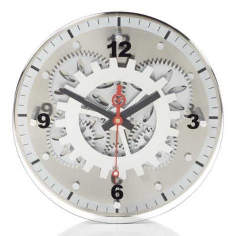 Moving Gear Wall Clock From Z Gallerie Home Sweet Home