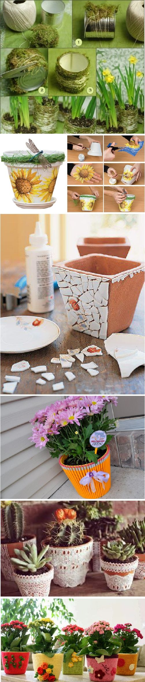 Lovely and Unique Flowerpots