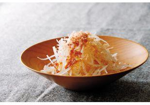 梅とゆずドレッシングの大根サラダ レシピ|らでぃっしゅレシピ