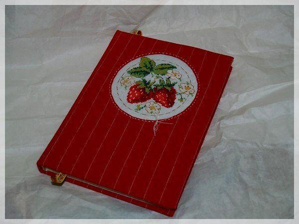 Блокнот ручной работы с вышивкой