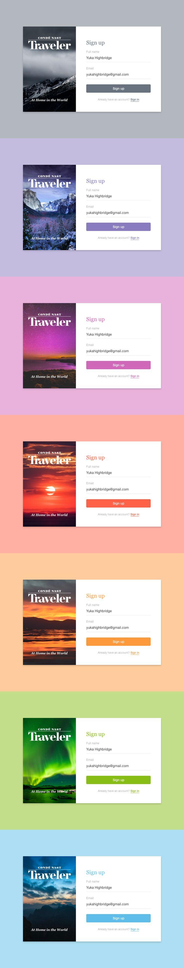 #website #signup #form #freebie #prototype #app #UI #idea #design
