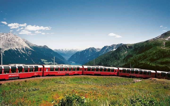 Rhätische Bahn RhB: Bahnerlebnisse in Graubünden online buchen