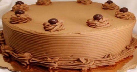 Receta de Torta con crema moka, explicada paso a paso, deliciosa y muy faicl de hacer. Torta rellena y decorada con crema moka, una delicia.
