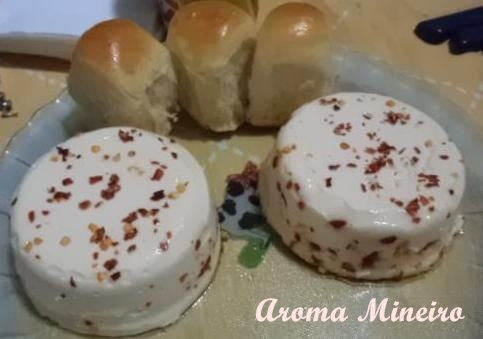 Mineiro Aroma: Mousse à l'ail et au fromage Minas   – Receitas